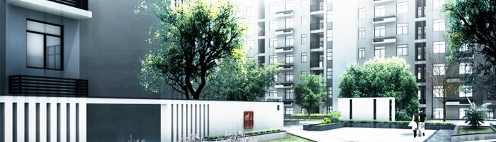 金质·新禧园采用现代中式建筑风格,简约鲜明,高层与多层相间,错落有